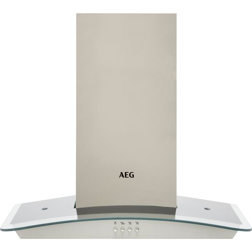 AEG DTB3653M 60 cm Chimney Cooker Hood - Stainless Steel - C Rated