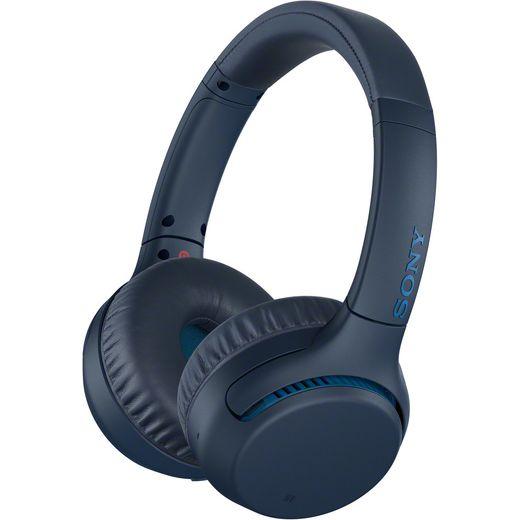 Sony WH-XB700 On-Ear Wireless Bluetooth Headphones - Blue