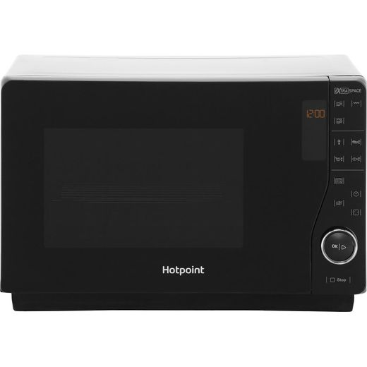 Hotpoint Ultimate Collection MWH2622MB 25 Litre Microwave With Grill - Black
