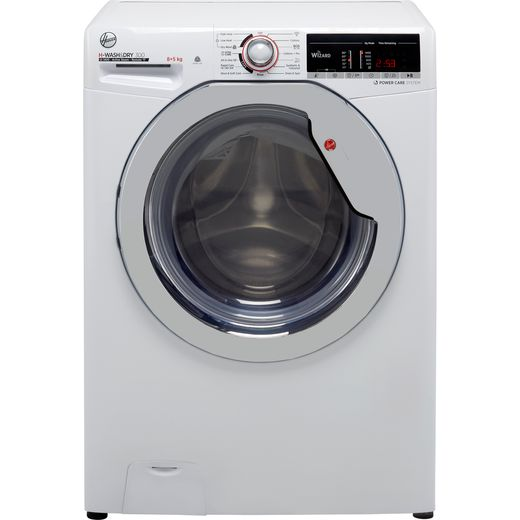 Hoover H-WASH 300 H3DS4855TACE Wifi Connected 8Kg / 5Kg Washer Dryer with 1400 rpm - White - E Rated