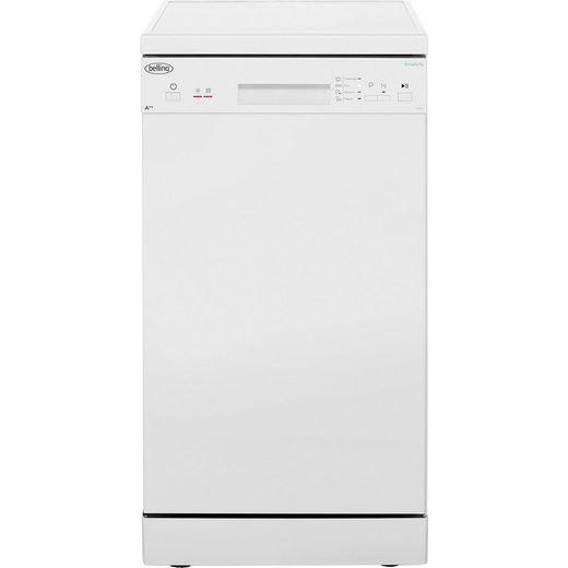 Belling Simplicity FDW90 Slimline Dishwasher - White - E Rated