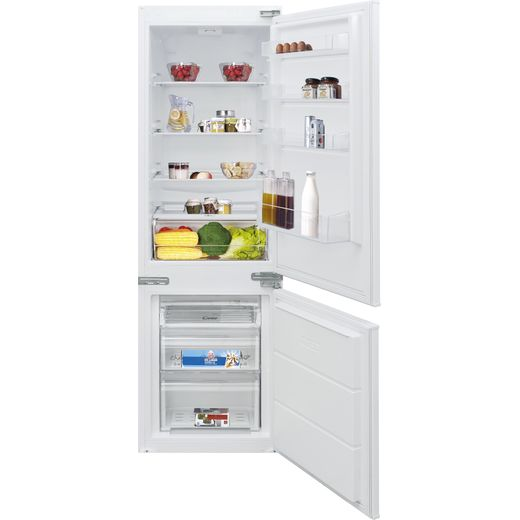 Candy BCBS172TK/N Integrated 70/30 Fridge Freezer with Sliding Door Fixing Kit - White - F Rated