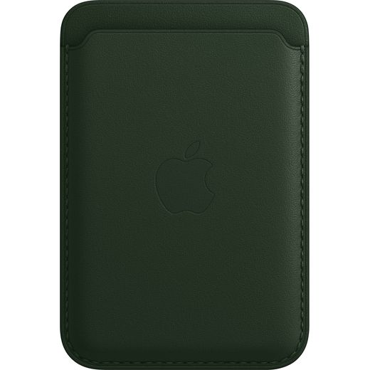 Apple Leather Wallet with Magsafe for iPhone 13 - Sequoia Green