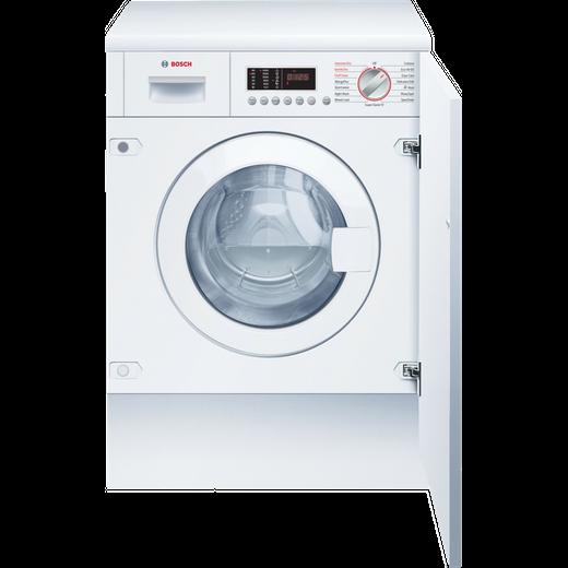Bosch Serie 6 WKD28542GB Built In Washer Dryer - White
