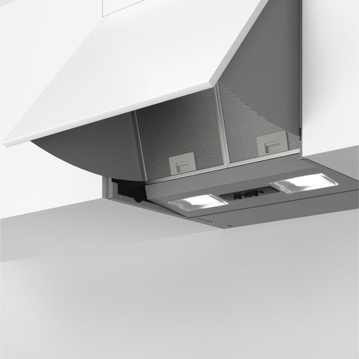Bosch Serie 2 DEM63AC00B 60 cm Integrated Cooker Hood - Silver - D Rated