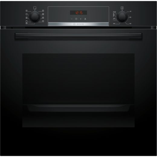 Bosch Serie 4 HBS573BB0B Built In Electric Single Oven - Black - A Rated