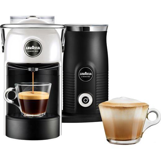 Lavazza Jolie & Milk 18000422 Pod Coffee Machine - White / Cream