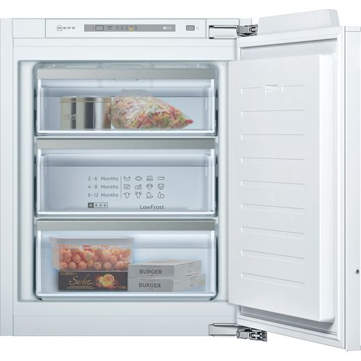 NEFF N50 GI1113FE0 Integrated Upright Freezer with Fixed Door Fixing Kit - E Rated