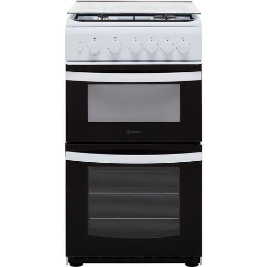 Indesit Cloe ID5G00KMW/L Gas Cooker - White