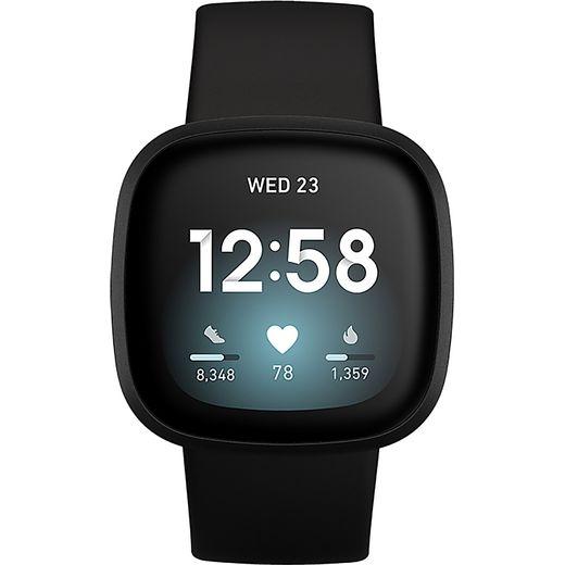 Fitbit Versa 3 Smart Watch - Black