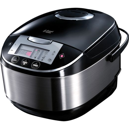 Russell Hobbs Cook At Home 21850 5 Litre Multi Cooker - Silver / Black