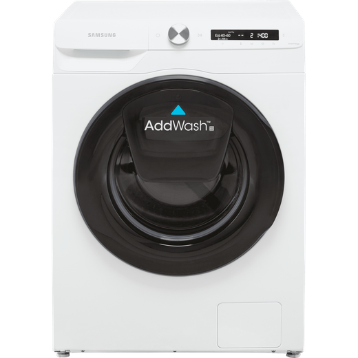 Samsung Series 5+ AddWash™ WW90T554DAW Wifi Connected 9Kg Washing Machine with 1400 rpm - White - A Rated