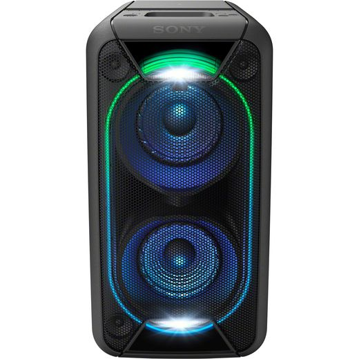 Sony GTK-XB90 Bluetooth High Power Party Speaker with Built-in Battery and Lighting Effects - Black
